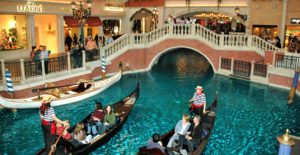 Gondola Ride at the Venitian in Las Vegas