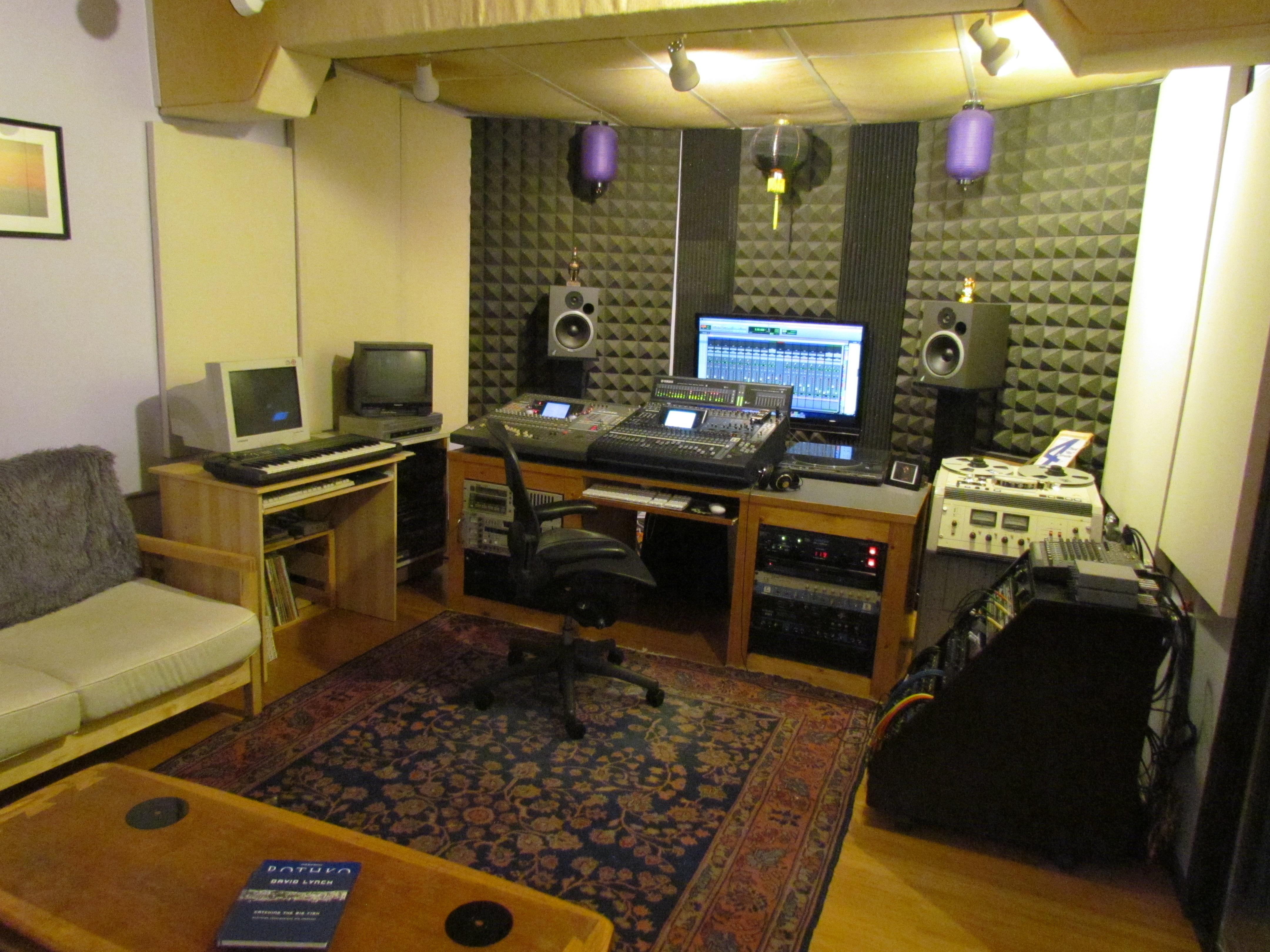 Control Room Furniture Property scott colburn's control room